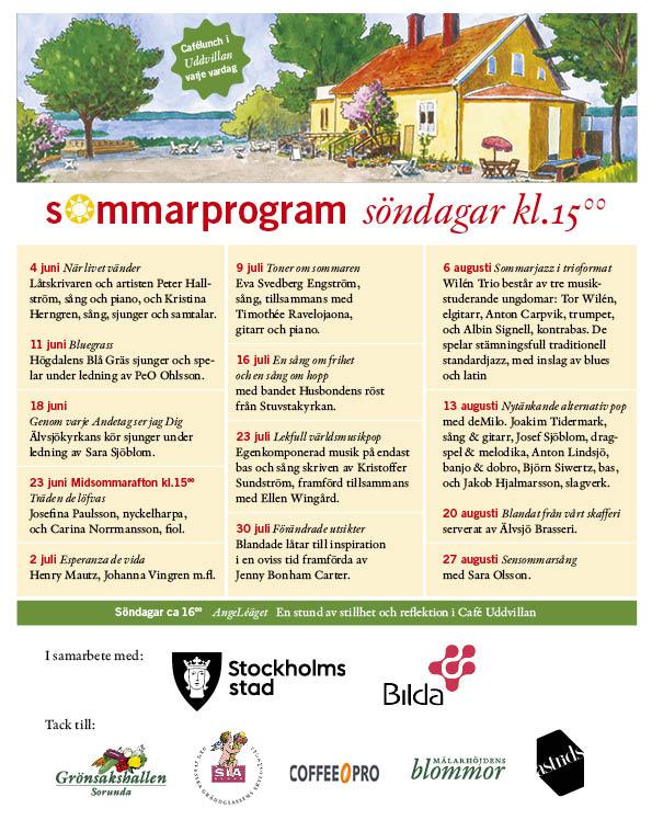 Sommarprogram 2017